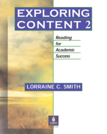 Image for Exploring Content 2: Reading for Academic Success
