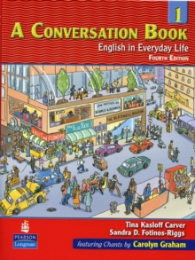 Image for A conversation book 1  : English in everyday life