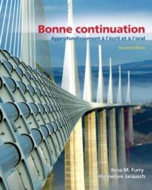Image for Bonne Continuation : Approfondissement a l'ecrit et a l'oral