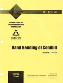 33107-04 Hand Bending of Conduit, TG