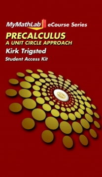 Image for MyLab Math for Trigsted Precalculus : A Unit Circle Approach -- Access Card