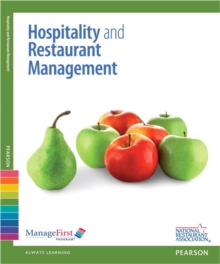 Image for ManageFirst : Hospitality and Restaurant Management with Answer Sheet