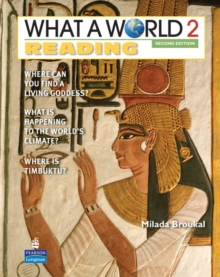 Image for WHAT A WORLD 2 READING     2/E STUDENT BOOK         247796
