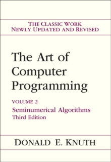 Image for The art of computer programming.: (Seminumerical algorithms.)