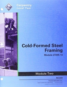 27205-13 Cold-Formed Steel Framing Trainee Guide