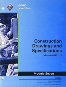 03401-13 Construction Drawings and Specifications Trainee Guide