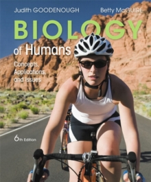 Image for Biology of humans  : concepts, applications, and issues