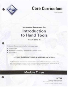 00103-15 Introduction to Hand Tools Instructor Guide
