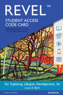 Image for NEW MyDevLab with Pearson eText --  Access Card -- for Exploring Lifespan Development