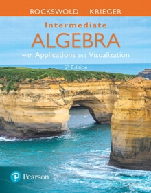 Image for Intermediate Algebra with Applications & Visualization