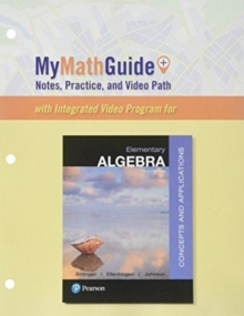 Image for MyMathGuide  : notes, practice, and video path for elementary algebra