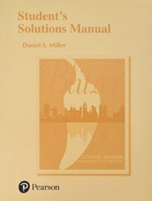 Image for Student's solutions manual for College algebra, early functions approach, fourth edition