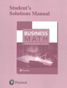 Image for Student Solutions Manual for Business Math