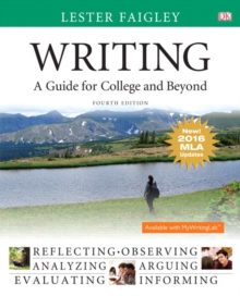 Image for Writing : A Guide for College and Beyond, MLA Update Edition
