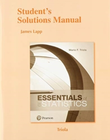 Image for Student's Solutions Manual for Essentials of Statistics