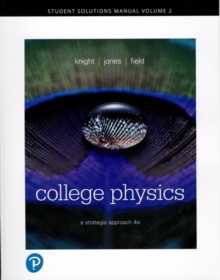Image for College physics, fourth edition  : a strategic approachVolume 2,: Student solutions manual