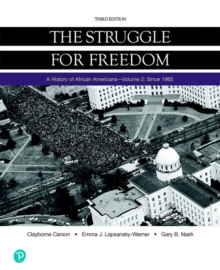 Image for Struggle for Freedom, The, Volume 2 since 1865, Books a la Carte Edition