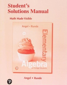 Image for Student's Solutions Manual for Elementary Algebra