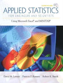 Image for Applied Statistics for Engineers and Scientists : Using Microsoft Excel & Minitab