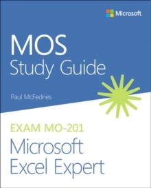 Image for MOS study guide for Microsoft Excel Expert exam MO-201