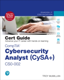 Image for CompTIA Cybersecurity Analyst (CySA+) CS0-002 Cert Guide