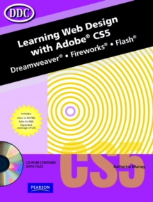 Image for Learning web design with Adobe CS5  : Illustrator, Photoshop, InDesign