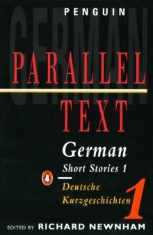 Image for Parallel Text: German Short Stories : Deutsche Kurzgeschichten