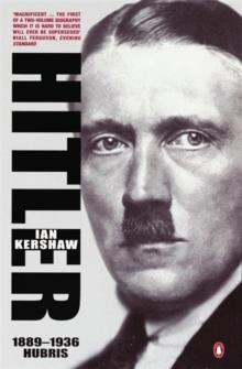Image for Hitler  : 1889-1936, hubris