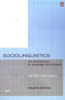 Image for Sociolinguistics  : an introduction to language and society