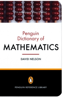Image for The Penguin dictionary of mathematics