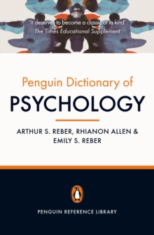 Image for The Penguin dictionary of psychology