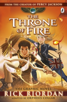 Image for The throne of fire  : the graphic novel