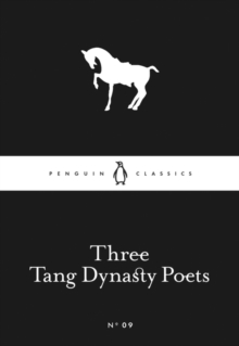 Image for Three Tang dynasty poets