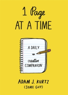 Image for 1 Page at a Time : A Daily Creative Companion