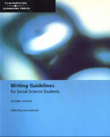 Image for Writing Guidelines for Social Science Students