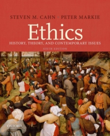 Image for Ethics  : history, theory, and contemporary issues