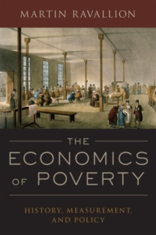 Image for The economics of poverty  : history, measurement, and policy