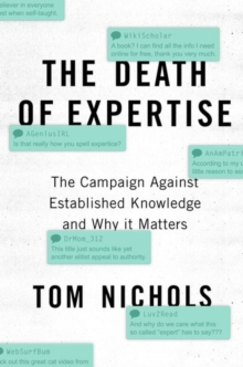 Image for The death of expertise