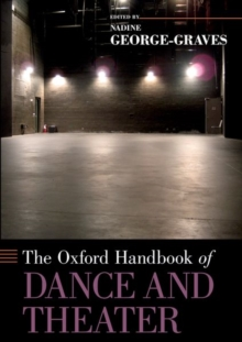 Image for The Oxford handbook of dance and theater