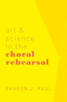 Image for Art & science in the choral rehearsal