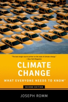 Climate change - Romm, Joseph (Senior Fellow, Senior Fellow, Center for American Progre