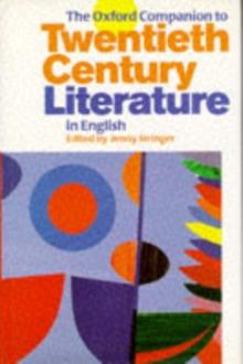 Image for The Oxford companion to twentieth-century literature in English