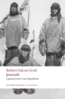 Image for Journals: Captain Scott's last expedition
