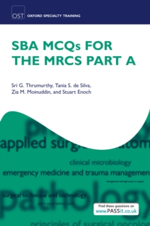 Image for SBA MCQs for the MRCS Part A