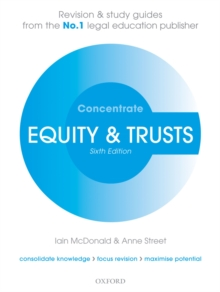 Image for Equity & Trusts Concentrate: Law Revision and Study Guide