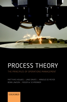 Image for Process Theory: The Principles of Operations Management
