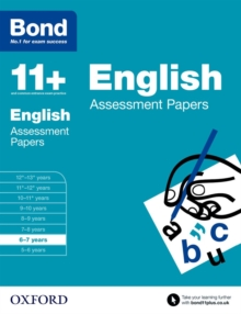 Image for English6-7 years,: Assessment papers