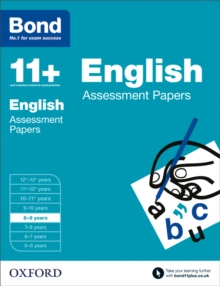 Image for English8-9 years,: Assessment papers