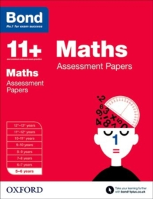 Image for Maths5-6 years,: Assessment papers