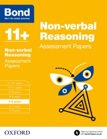 Image for Non-verbal reasoning7-8 years,: Assessment papers